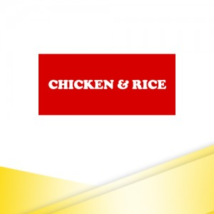 5. CHICKEN & RICE